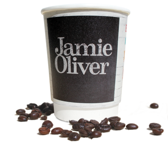 printed cups for takeaway coffee business small quantities