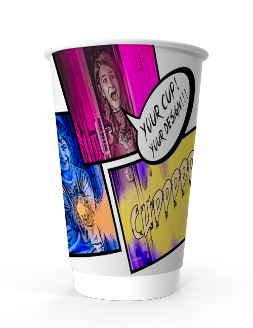 Double Wall Paper Cup 16oz