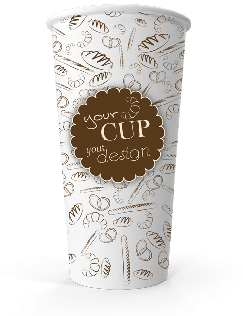 Single Wall Cup 20oz
