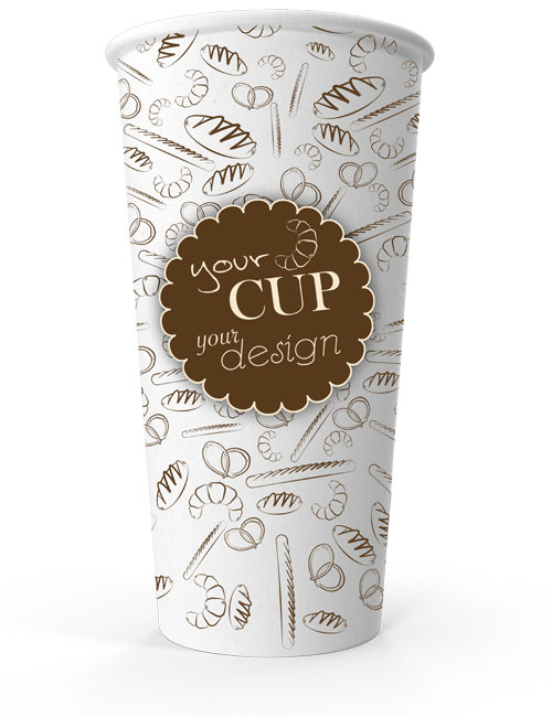 7a853803f19 Single Wall Cup 20oz - CupPrint