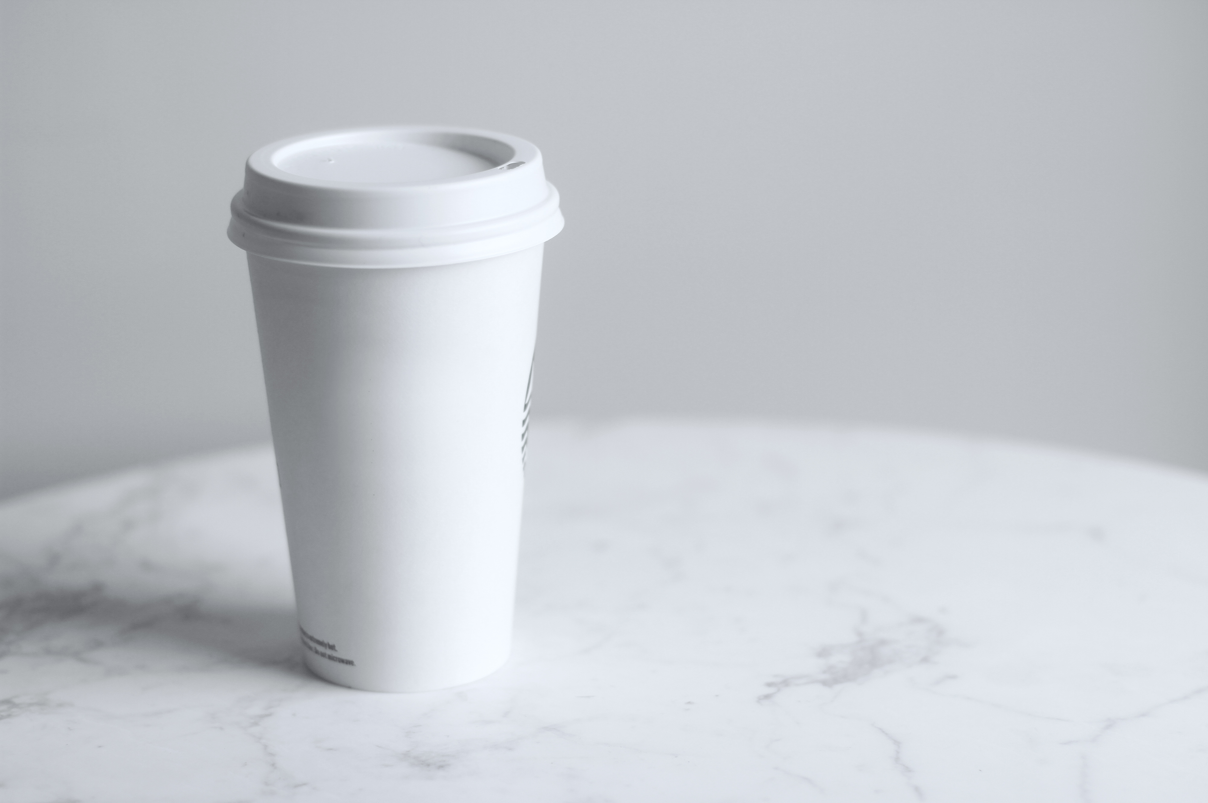 image of printed paper coffee cup for coffee shops news links roundup post